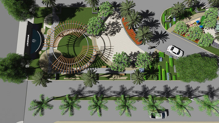 Dịch vụ thiết kế mảng xanh