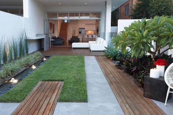 Thiết kế sân vườn cho nhà ống đẹp, giá rẻ tại Tp.HCM