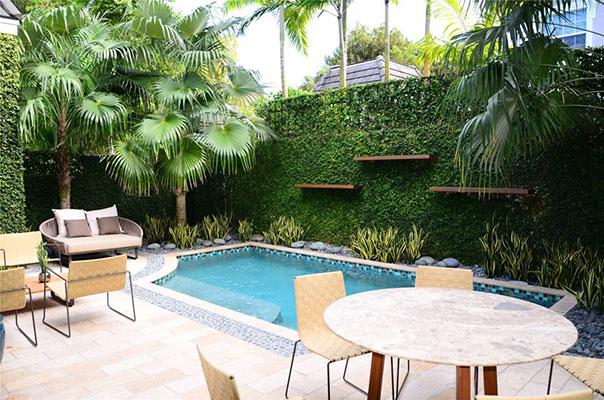 Thiết kế thi công sân vườn hiện đại